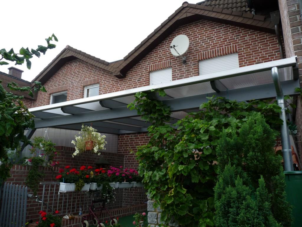 Terrassenüberdachung Beispiel 10 - Waldemar Zilich