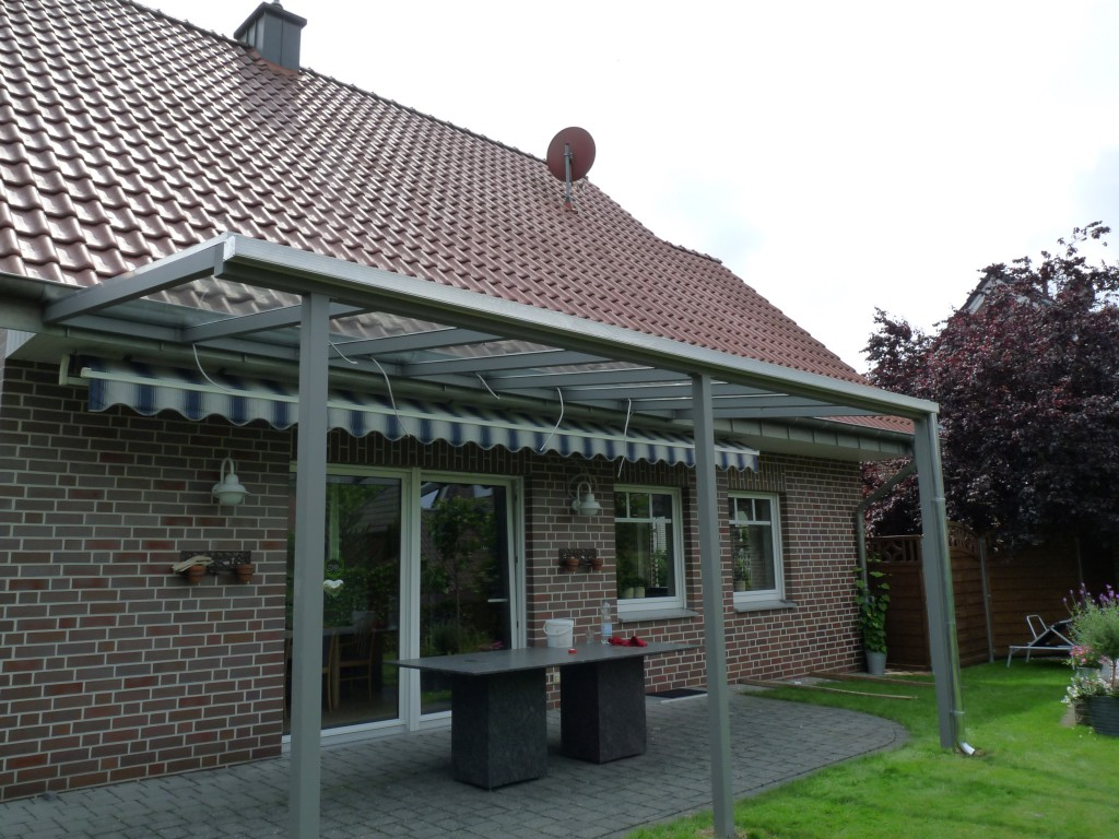 Terrassenüberdachung Beispiel 6 - Waldemar Zilich