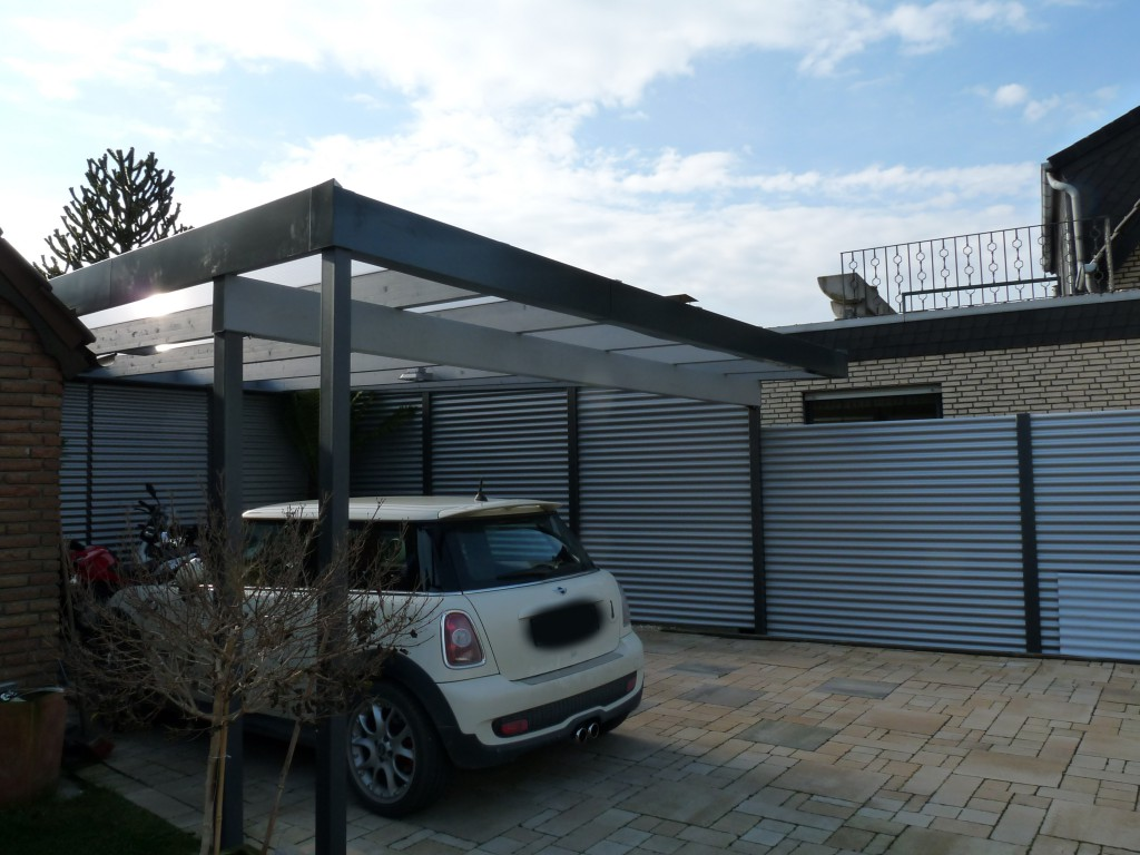 Terrassenüberdachung Beispiel 9 - Waldemar Zilich